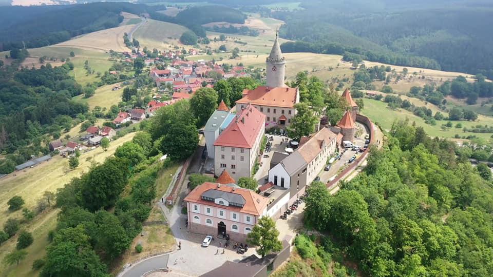 Rocketdays in der Leuchtenburg – Copterfoto: Denis Bernard