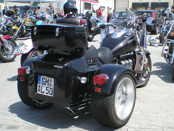 Triumph Rocket III Rewaco-Trike